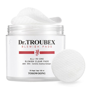 TOSOWOONG Dr. Troubex Pimple Pad 70pcs in a box