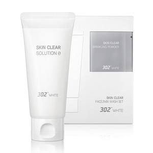 302WHITE Face2mix Wash Set