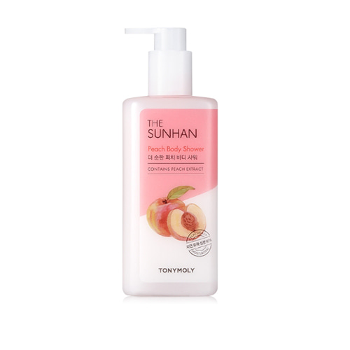 TONYMOLY The Sunhan Peach Body Shower 300ml