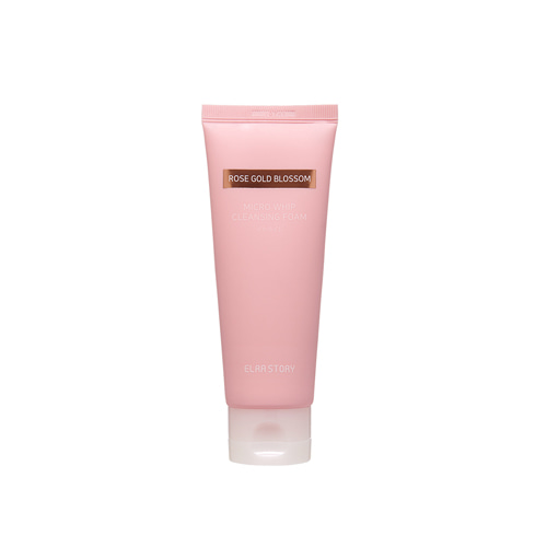 ELRASTORY Rose Gold blossom Micro Whip Cleansing Foam 120ml