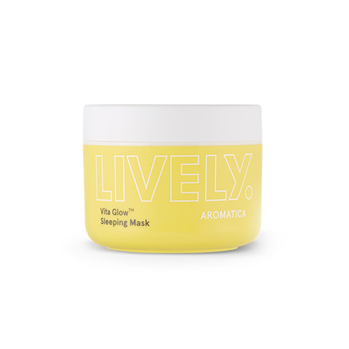 Aromatica LIVELY Vita Glow Sleeping Mask​ 100g