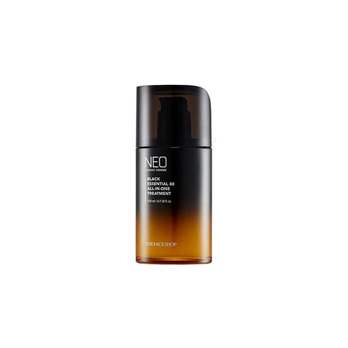 THE FACE SHOP Neo Classic Homme Black Essential 80 All-In-One Treatment 110ml