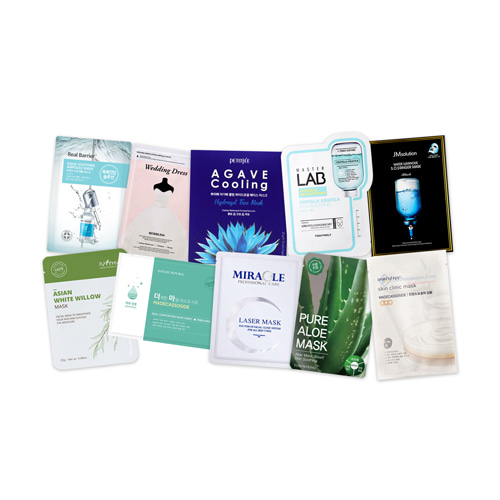 Mask Sheet Trial Kit (Soothing)