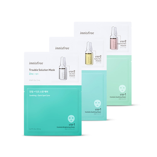 innisfree Trouble Solution Mask 3ea