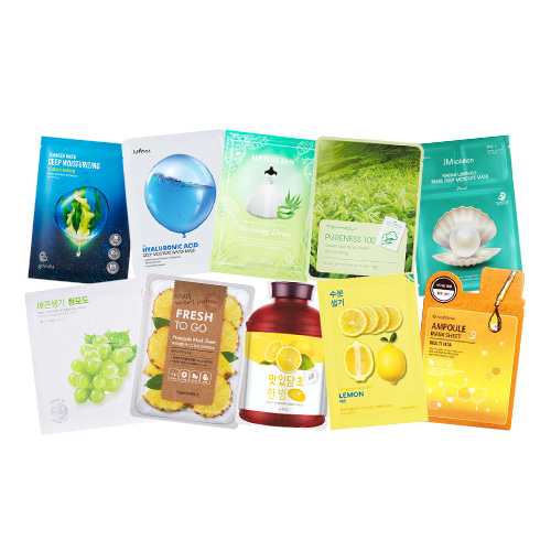 Mask Sheet Trial Kit (Fresh)