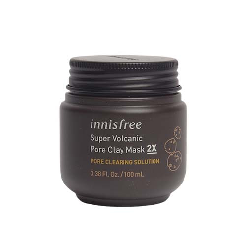 innisfree Super Volcanic Pore Clay Mask 2X 100ml