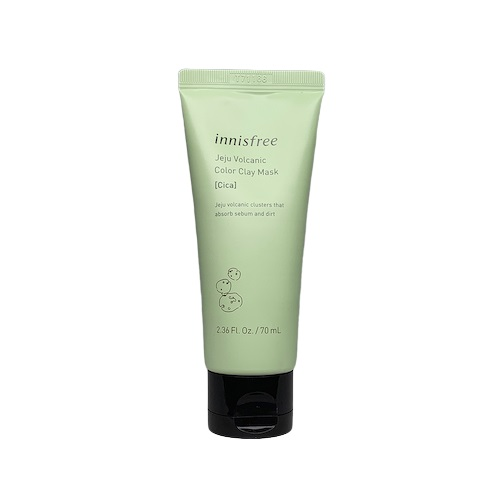 innisfree Jeju Volcanic Color Clay Cica Mask 70ml