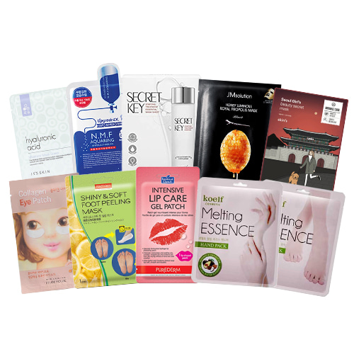 Mask Sheet Trial Kit (Head To Toe)
